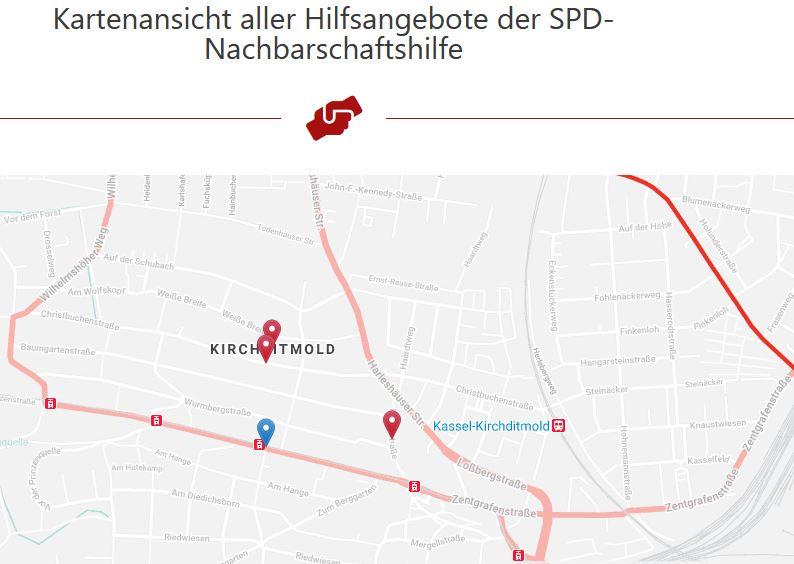 SPD Hilfe Corona